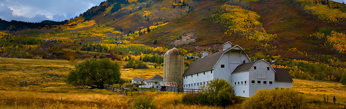 Wasatch Mountains Rural Farm